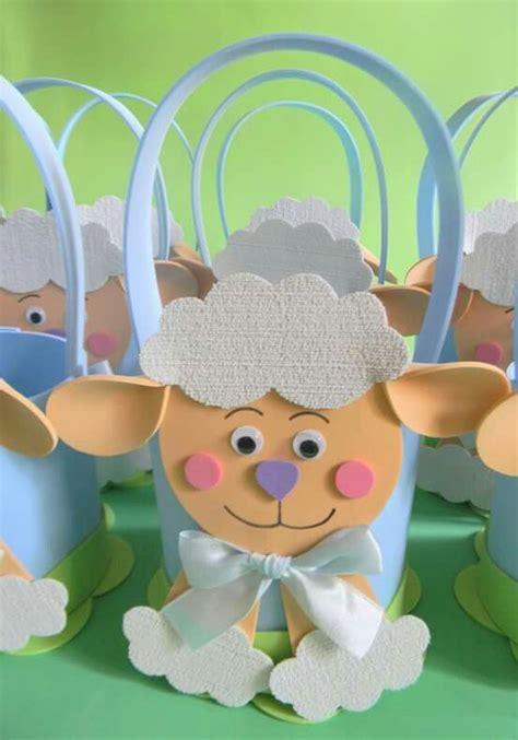 papel como hacer borregos dulcero oveja dulceros pinterest