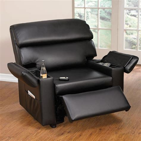 extra wide leather recliner 10 stylish and cozy large chairs for the living room