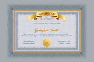 Templates For Graduation Certificates by 9 Graduation Certificate Templates Sles Exles