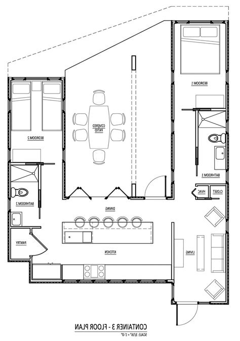 home blueprints free free shipping container house plans container house design