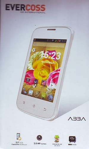 Evercoss A33a On spesifikasi evercoss a33a ponsel android murah harga 400