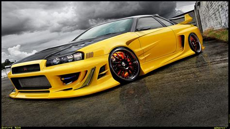 nissan skyline r34 wallpaper nissan skyline gt r r34 wallpapers 70 images