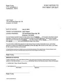 Lease Notice For Unauthorized Occupant Unauthorized Tenant Letter Docoments Ojazlink