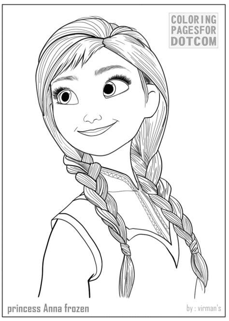 princess coloring pages frozen anna princess anna frozen coloring pages 1 coloring pages