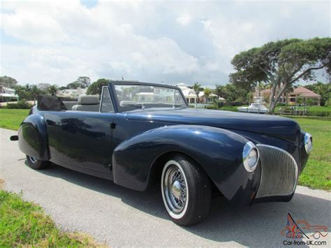 1940 lincoln continental 1940 lincoln continental cabriolet convertible midnight