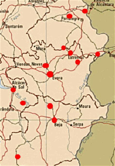 portugal pousadas map alentejo portugal pousadas