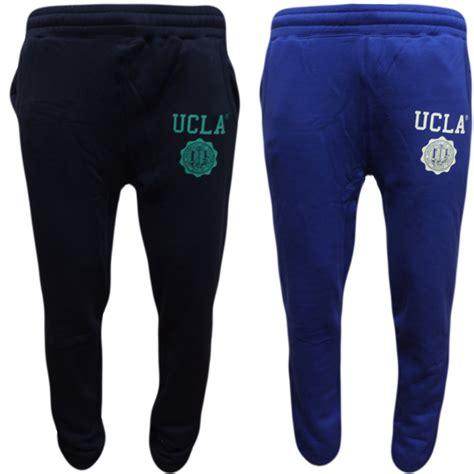Jogger Navy 27 30 mens joggers ucla sweatpants jogger bottoms blue or navy 30 32 34 36 ebay