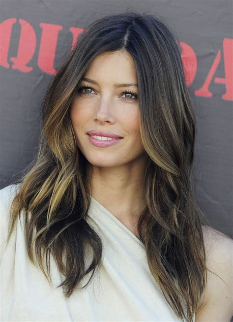 pictures of ombre highlights balayage on dark hair memes
