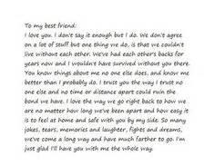 Break Letter Your Best Friend best friend letters on pinterest friends forever moms best friend