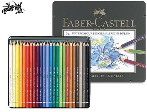 24 Watercolour Pencils Faber Castell faber castell watercolour pencils albrecht durer tin set 24 colours 163 35 00 finest materials