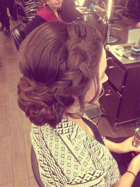 Wedding Hair Updo Prices by 25 Best Ideas About Thick Braid On Braids
