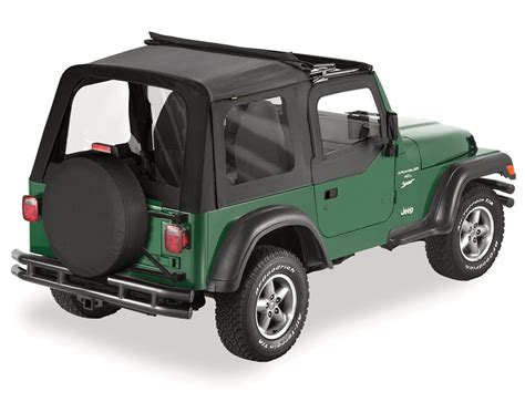 Different Jeep Tops Bestop 174 Sunrider Soft Top With Doors For 03 06 Jeep