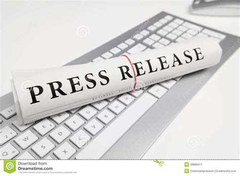 press news press release stock photo image 49699477