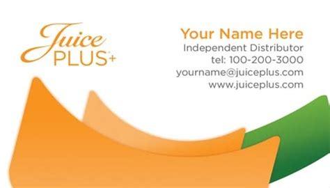 juice plus business cards template juice plus business card design 2