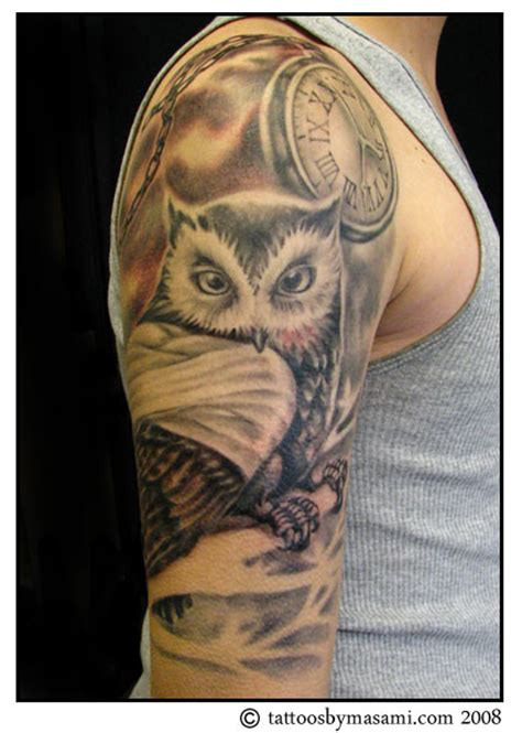 tattoo owl on arm brainsy heart upper arm owl tattoo