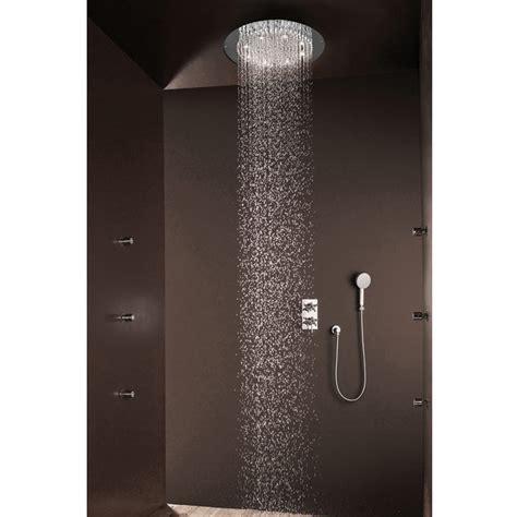 soffioni doccia led bossini soffione doccia tondo moderno a un getto con led