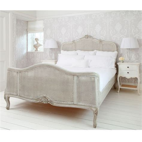 painting wicker bedroom furniture french grey painted rattan bed king french bedrooms