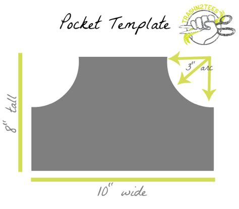 pocket templates printable t shirt pocket template studio design