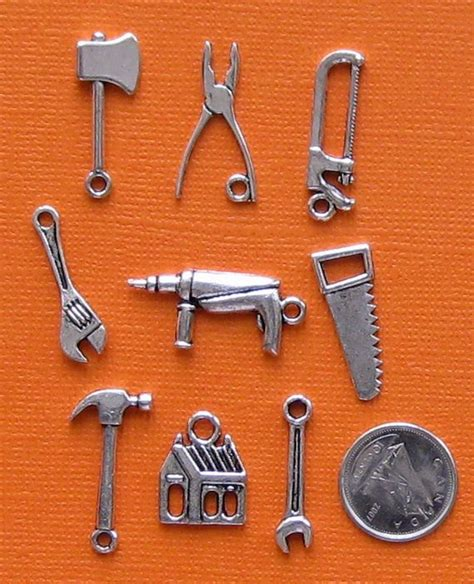 tools charm collection antique tibetan silver by