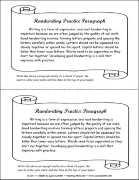 How To Practice Writing Essays by Free Handwriting Practice Activity Literacy Stations