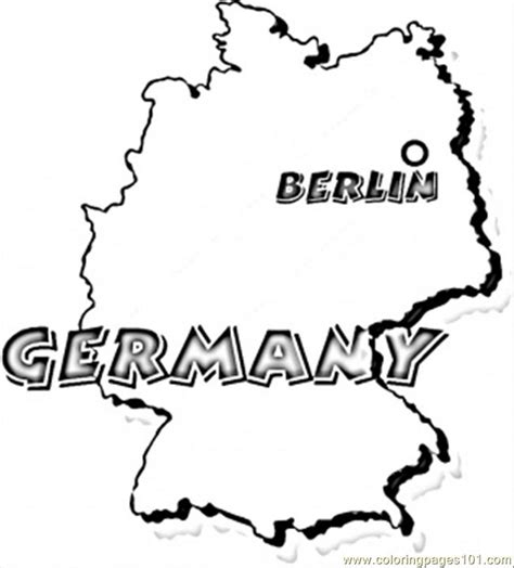 free coloring pages of germany