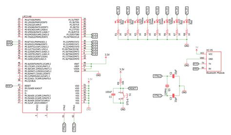 understanding major integrated circuits ic on mobile phones interfacing bluetooth with arm7 lpc2148