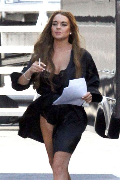 Lindsay Lohan Working On The Set Of I Kno by Lindsay Lohan Archives Page 20 Of 24 Hawtcelebs