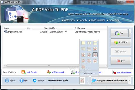 visio 2007 pdf add page numbers to pdf without acrobat free