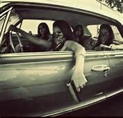 Gangster Girls With Guns In Car