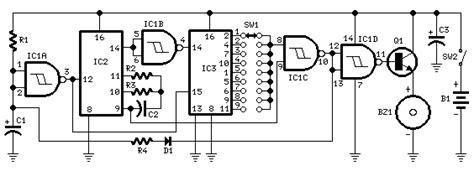 membuat perangkap tikus elektronik rangkaian timer 1 menit 9 menit