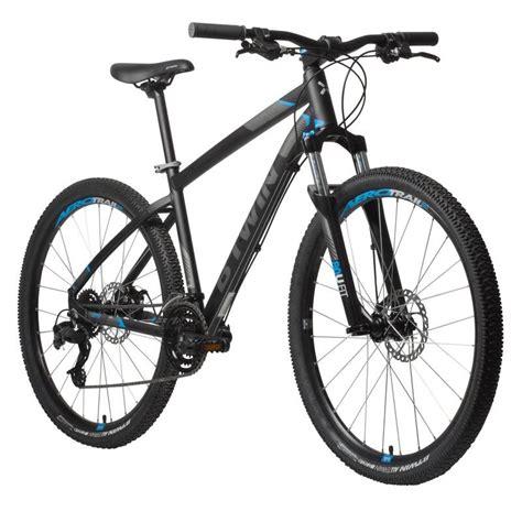 E Bike Decathlon rockrider 520 mountain bike 27 5 quot black decathlon