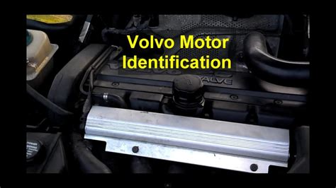 motor serial number location  block volvo    xc auto information series youtube