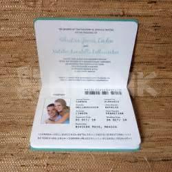 passport wedding program template value 750 00 opening auction bid is 35 00