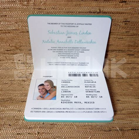 passport invite template wedding invitation passport designs wedding invitations