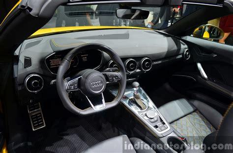 Audi Tt 2015 Interior by 2015 Audi Tts Roadster Interior At The 2014 Motor