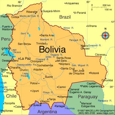 map of bolivia atlas bolivia