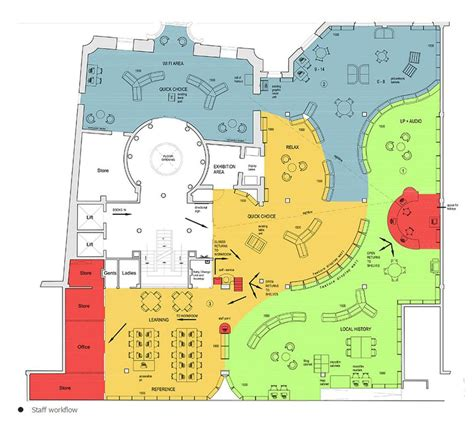 Create A Classroom Floor Plan library space planning