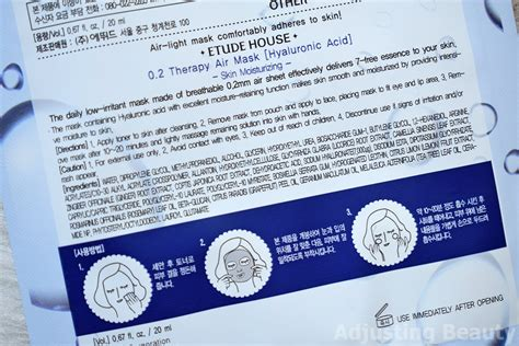 review etude house 0 2 therapy air masks ceramide and