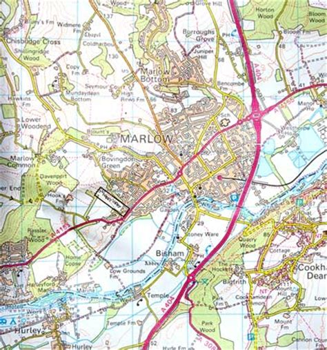 map of river thames at marlow happy valley archaeology in marlow