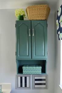 Teal Storage Cabinet Painted Bathroom Storage Cabinet