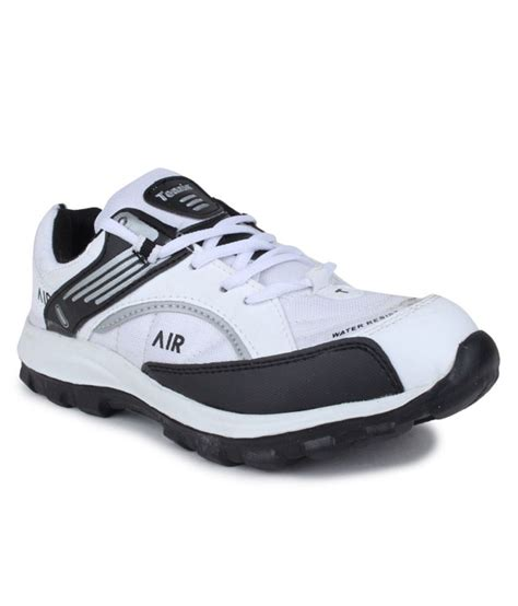 white leather sports shoes white synthetic leather sports shoes price in india
