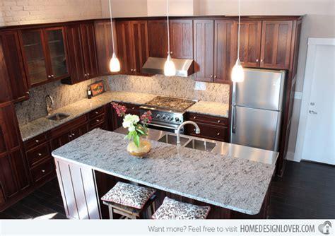 Meja Granit 15 Different Granite Kitchen Countertops