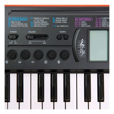 Keyboard Casio Sa 76 casio sa 76 44 key portable keyboard at gear4music