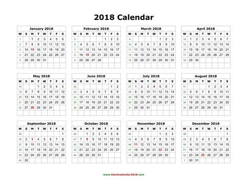Weekly Calendar 2018   weekly calendar template