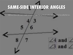 Example Of Same Side Interior Angles Geometry Unit 2 By Monya Gavin16