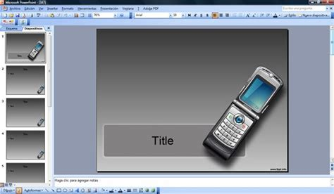 Free Cellphone Powerpoint Cell Phone Powerpoint Template