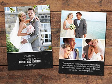 wedding thank you card templates for photographers print templates archives photographypla net