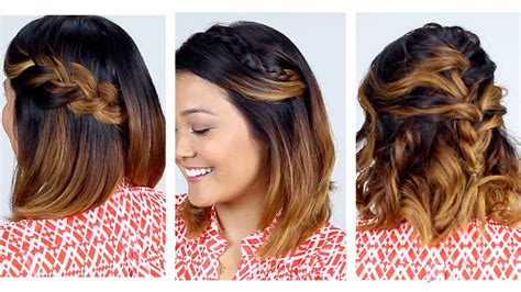 easy quick and beautiful hairstyles fast easy hairstyles short hair hairstyles