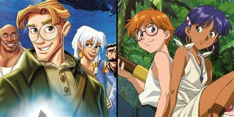 anime films that were ripped off by hollywood movies