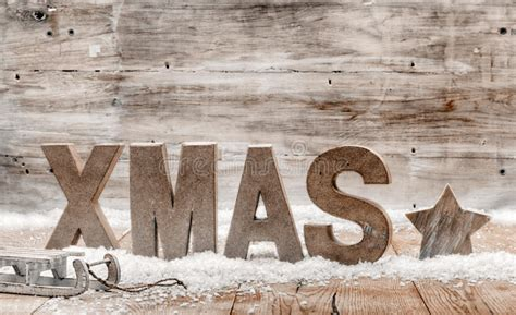 wood craft rustic christmas background stock image image